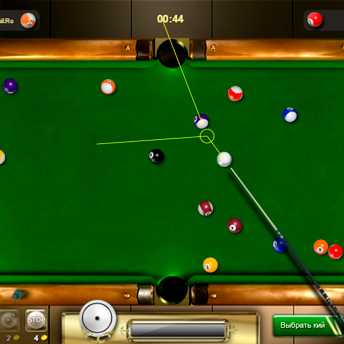 Скриншот 3 к игре Бильярд восьмерка
