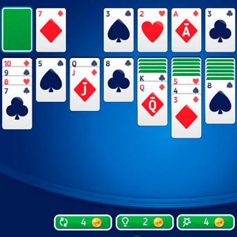 Скриншот 1 к игре Пасьянс Косынка